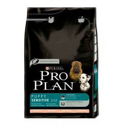 PRO PLAN Puppy Sensitive 3 kg.  Salmon y Arroz